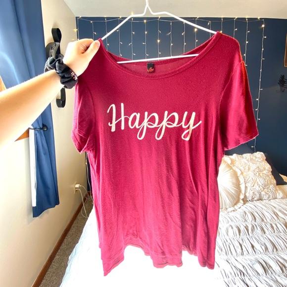 Tops - Happy Tee